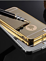 Para Funda iPhone 6 Plus Carcasa Funda Cubierta Trasera Funda Dura Metal para iPhone 6s Plus iPhone 6 Plus