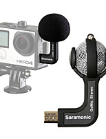 Saramonic GoMic Professional Mini Stereo Ball Microphone for Gopro Hero4 4+ 3+ 3 Cameras