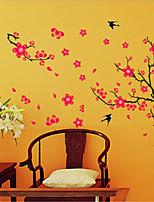 Animals / Botanical / Fashion Wall Stickers Plane Wall Stickers , PVC 90cm*60cm