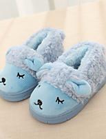 Baby Shoes - Casual - Ciabatte - Felpato - Blu / Rosso / Marrone chiaro / Beige