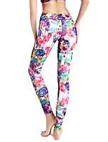 yoga pantalones / absorción / compresión / ligeros materiales / yoga / pilates / aptitud de las mujeres