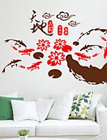 Fashion / Holiday Wall Stickers Plane Wall Stickers , PVC 45cm*110cm