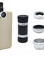 universelle 8x zoom optique lentille de la caméra du télescope pour téléphone mobile iPhone 5s 5g 5c 6 Samsung i9300 Galaxy S3 S4 note 2 3