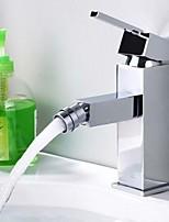 Contemporary Brass Bidet Faucet - Chrome Finish