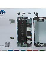 Magnetic Screw Mat Technician Repair Pad Guide for iPhone 6