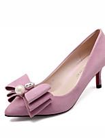 Women's Shoes Leatherette Stiletto Heels / Closed Toe Heels Wedding / Office & Career / Party & Evening / DressBlack /