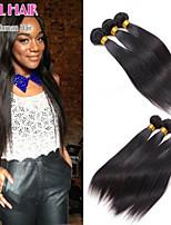 Hot Peruvian Virgin Hair Straight 3pcs Lot 100% Unprocessed Virgin Human Hair Peruvian Straight Hair