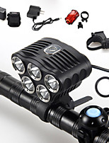 5 Mode 6000 Lumens Headlamp 18650 Waterproof LED Cree XM-L T6