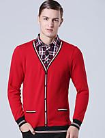 CliffWalker Men's fashion personality quality false two-piece velvet warm long sleeve shirts