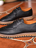 Men's Shoes Wedding / Office & Career / Party & Evening / Casual Oxfords Black / Blue / Brown / White