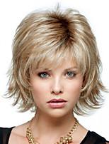 Straight Hair European Weave Light Blonde Hair Wig