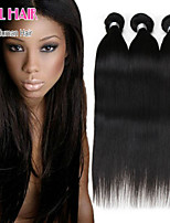 6A Brazilian Virgin Hair 4 Bundles Straight Human Hair Virgin Brazilian Straight Hair