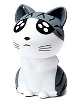 luce bluetooth m3 cambia povero gatto mini altoparlante di figura portatile