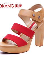 Aokang® Women's Leatherette Sandals - 132825130