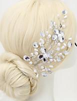 Kristallen / Licht Metaal / Imitatie Parel Vrouwen / Bloemenmeisje Helm Bruiloft / Speciale gelegenheden BloemenBruiloft / Speciale