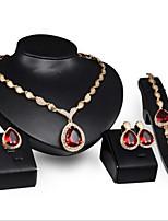 Women's Alloy / Rhinestone Jewelry Set