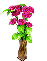 Telemark Flower Polyester Roses Artificial Flowers