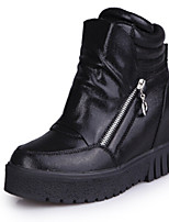 Women's Shoes Flat Heel Comfort Boots Outdoor Black / Silver