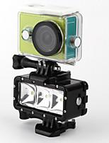 telesin pov flash dimbare LED vullen nachtlampje onderwater 30m waterdichte duiklamp mount kit voor Xiaomi yi
