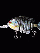 New 3.2 Inches 14 Grams Slow Sinking Crappie Swimbait Crankbait  Fishing Lure