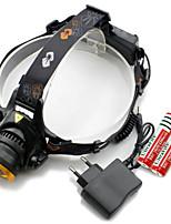 Luces para Gorras / Bulbos de Luz LED ( Enfoque Ajustable / A Prueba de Agua / Recargable / Control de Ángulo / Super Ligero / Zoomable)