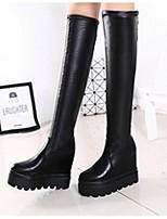 Women's Shoes Platform Fashion Boots / Closed Toe Boots Dress / Casual Black