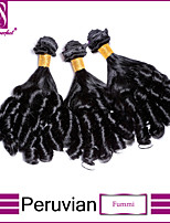 3Pcs/Lot Peruvian Virgin Hair Fummi Unprocessed Peruvian Virgin Hair Brazilian Hair Bundles
