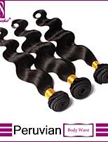 3PCS Lot Peruvian Virgin Hair Body Wave Unprocessed Virgin Hair Weave Peruvian Body Wave Human Hair Extension