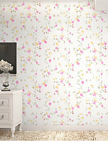 Home Decor Art Sweet Lively Flower Rattan Floral Simple Contemporary Wallpaper Wall Covering PVC Wall Paper 10*0.45 M