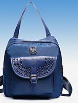 VENETA® Women PU Bucket Backpack / School Bag / Travel Bag - Blue / Red / Black