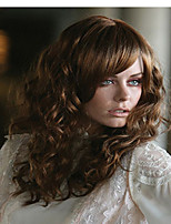 Dark Brown  Synthetic Medium  Wave Wigs  New Arrival