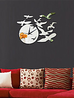 Seagull Clock DIY Mirror Acrylic Wall Stickers Wall Decals