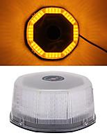 ámbar techo advertencia superior luz de emergencia del estroboscópico 240 led con base magnética