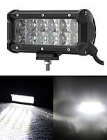 7 Inch 60W OSRAM LED Work Light Bar Fog Flood Lights 4x4 SUV Boat Truck Trailer ATV Car Headlight Offroad Driving