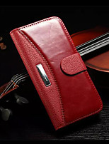 Luxury Genuine Leather Wallet Flip Case for iPhone 6S Plus/6 Plus