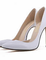 Women's Shoes Leatherette Stiletto Heel Heels / Pointed Toe Heels Party & Evening