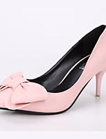 Women's Shoes Kitten Heel Heels / Pointed Toe / Closed Toe Heels Dress Black / Pink / White