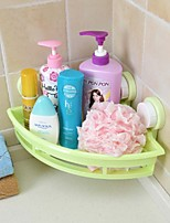 Colourful Strong Sucked Type PP  Triangle Bathroom Or Kitchen Basket