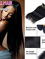 cabelo peruano de cabelo por atacado 3 pcs muito 6a peruano qualidade superior reta humano
