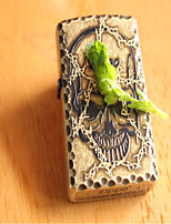 Famous International Classics Skull Zi Metal Lighters