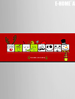 E-HOME® Stretched Canvas Art  Christmas Series Decoration Painting  One Pcs