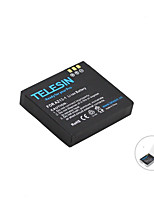 Original TELESIN Li-Ion Back-up Battery - BLACK3.7V 1010mAh 3.7Wh Rechargeable for Xiaomi Yi Action Camera