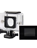 1,38-Zoll-Farb-TFT-LCD-Bildschirm zurück BacPac + 30m lcd wasserdichten Gehäuse Fall für xiaomi Xiaoyi