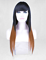 New Stylish Lady Women Two Tone Color Wig Sale To Eurepean  Syntheic  Hair Wig