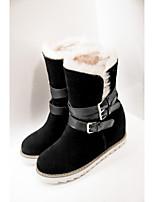 Chaussures Femme - Bureau & Travail / Habillé / Décontracté / Soirée & Evénement - Noir / Jaune / Rose / Beige - Plateforme - Bout Arrondi