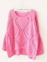 Women's Fashion Casual Hollow Out Cashmere Pullover Knit Sweater