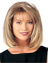 Women Lady Medium Bob  Synthetic Wigs   To European And America From Stock
