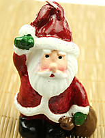 Christmas Santa Snowman Candle for Wedding Birthday Confession Party Gift(1pc)
