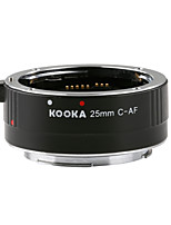 KOOKA KK-C25 AF Extension Tube 3.5mm Input with Auto-Focus TTL Exposure for Canon 25mm EF&EF-S SLR Cameras