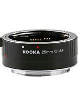 kooka kk-c25 af tube d'extension 3.5mm entrée avec auto-focus exposition TTL pour Canon EF 25mm&Les appareils photo reflex EF-de